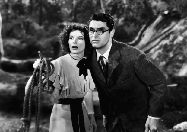 Bringing Up Baby Cary Grant Katharine Hepburn