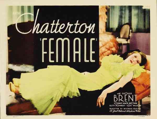 Female 1933 Ruth Chatterton