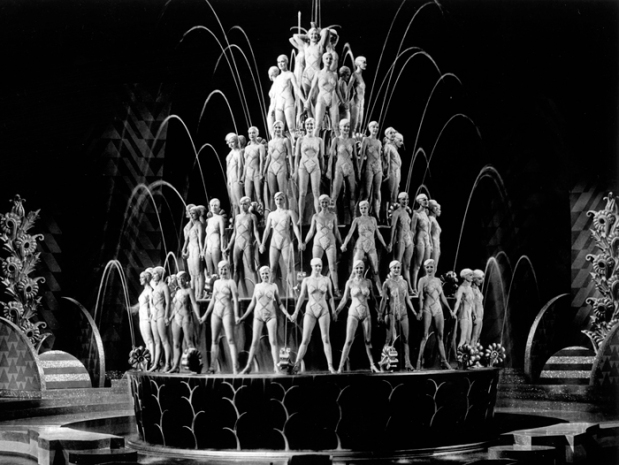 Footlight Parade By a Waterfall