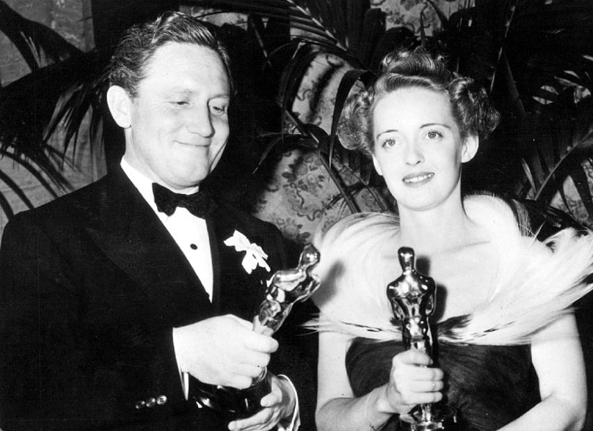 Bette Davis Spencer Tracy Academy Award