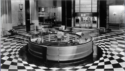 Grand Hotel 1932 Lobby Desk