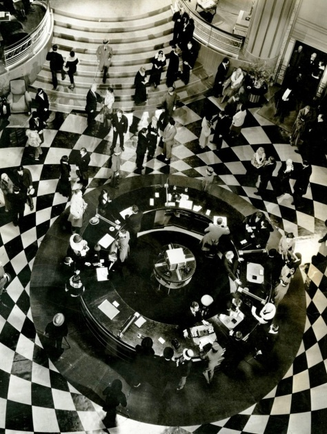 Grand Hotel 1932 Lobby