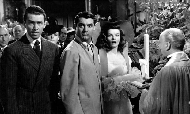The Philadelphia Story Stewart Grant Hepburn