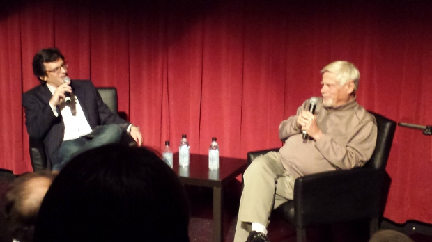 Robert Morse Ben Mankiewicz at The Loved One