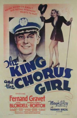 King and the Chorus Girl 1937
