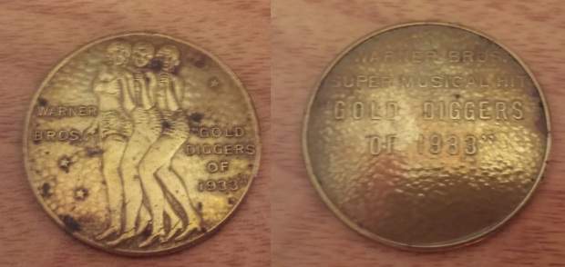 Gold Diggers of 1933 Promo Coin