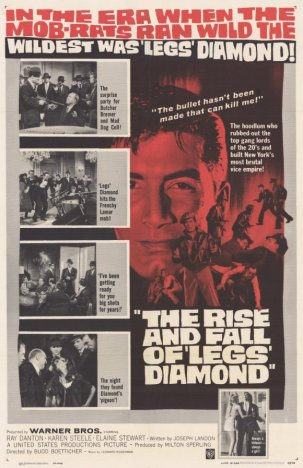Rise and Fall of Legs Diamond 1960
