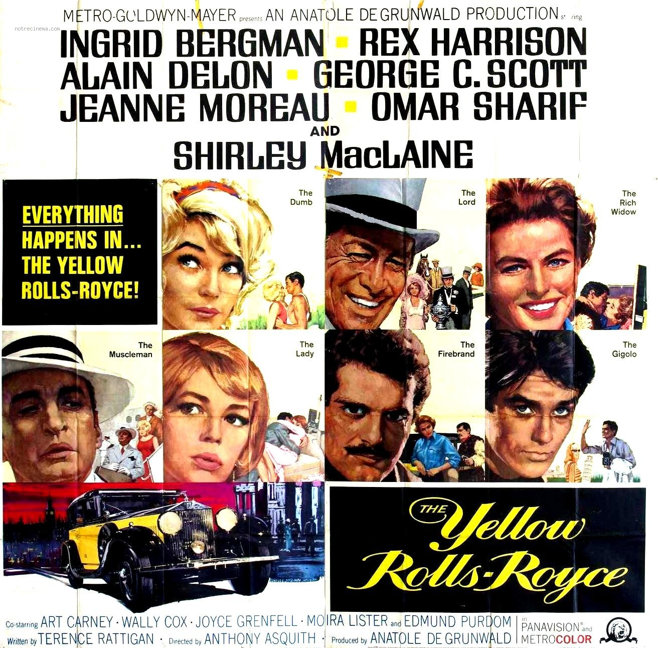 The Yellow Rolls-Royce (1964) | The Hollywood Revue