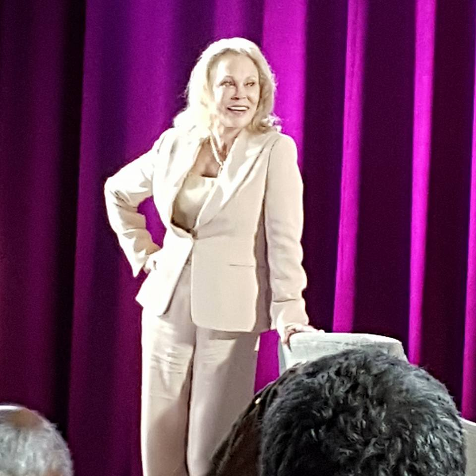 Faye Dunaway After TCMFF Interview