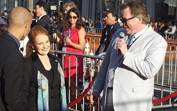 Katharine Houghton TCMFF 2016 Red Carpet