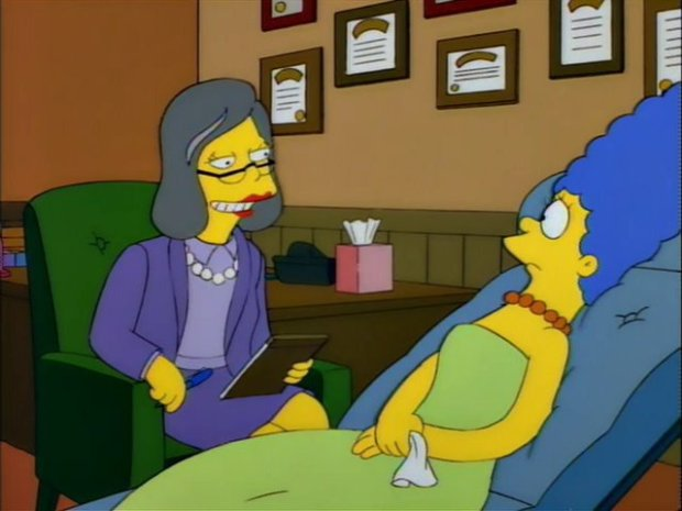 Anne Bancroft on The Simpsons
