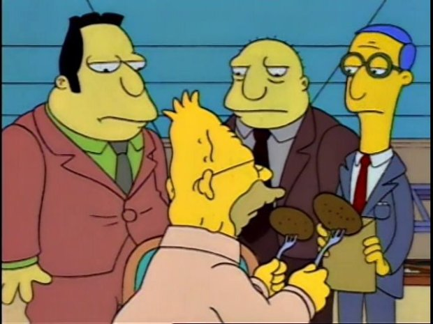 Chaplin Lawyers The Simpsons