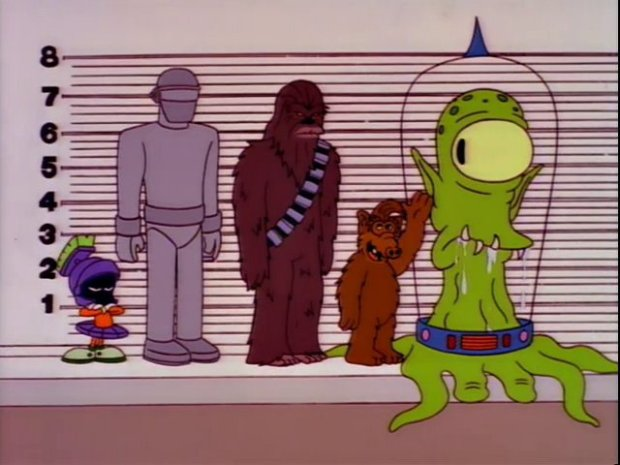 Alien Lineup The Springfield Files