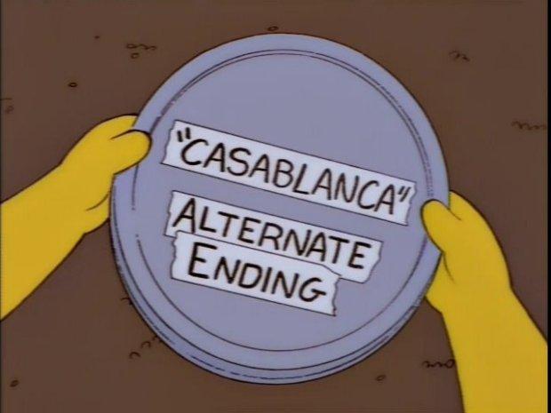 Casablanca Alternate Ending