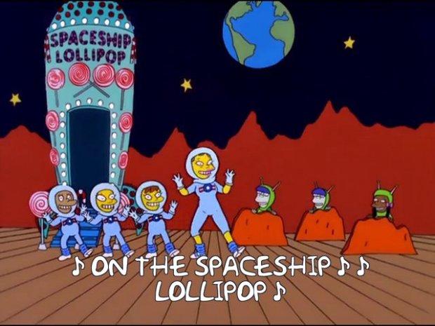 Spaceship Lollipop