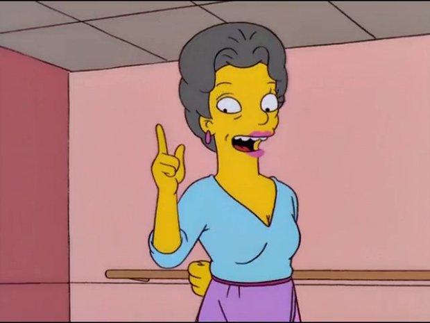 The Simpsons Little Vicki