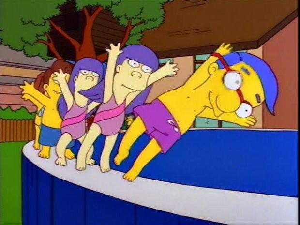 Simpsons Busby Berkeley Musical Parody