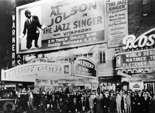 The Jazz Singer Marquee