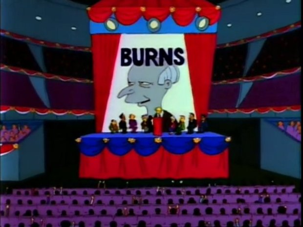 Mr. Burns Election