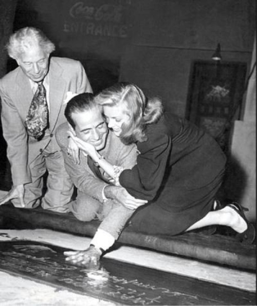 Bogie Bacall Grauman's Chinese Theater