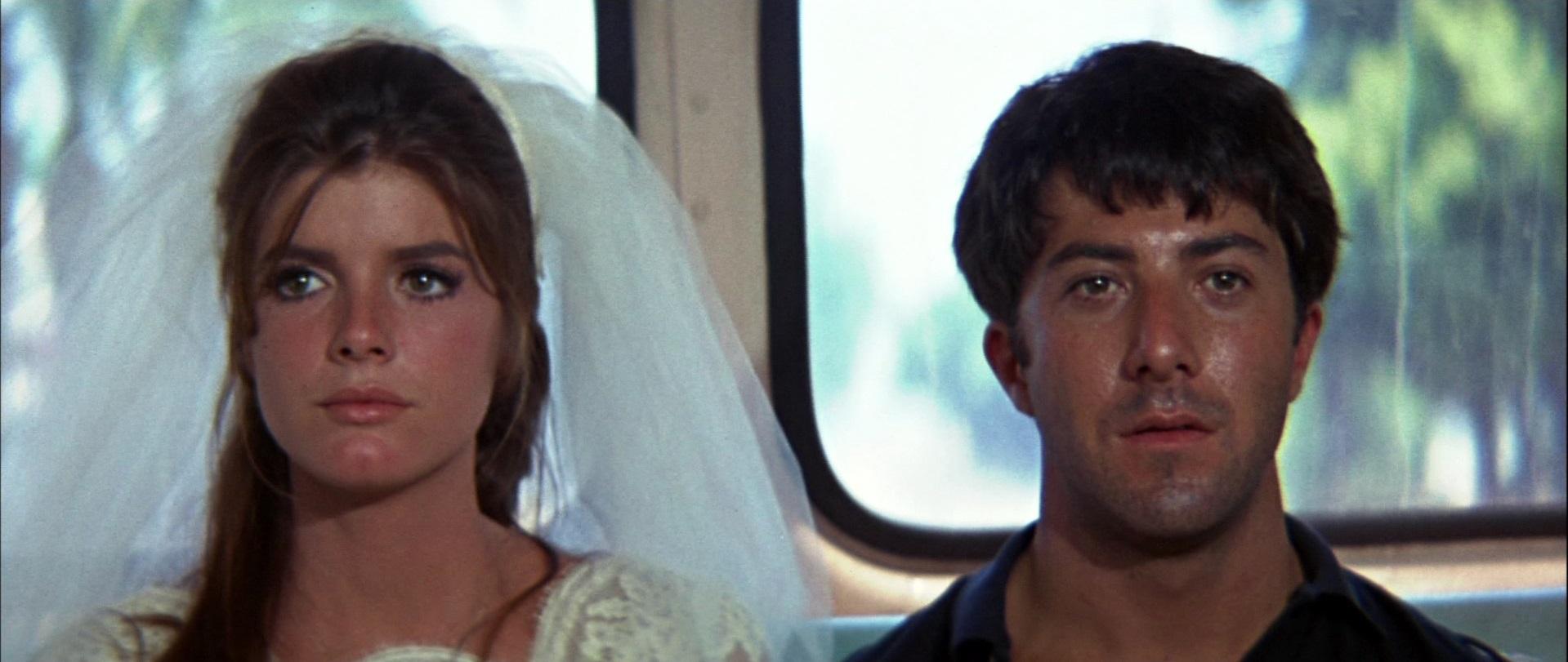 The Graduate Dustin Hoffman Katharine Ross