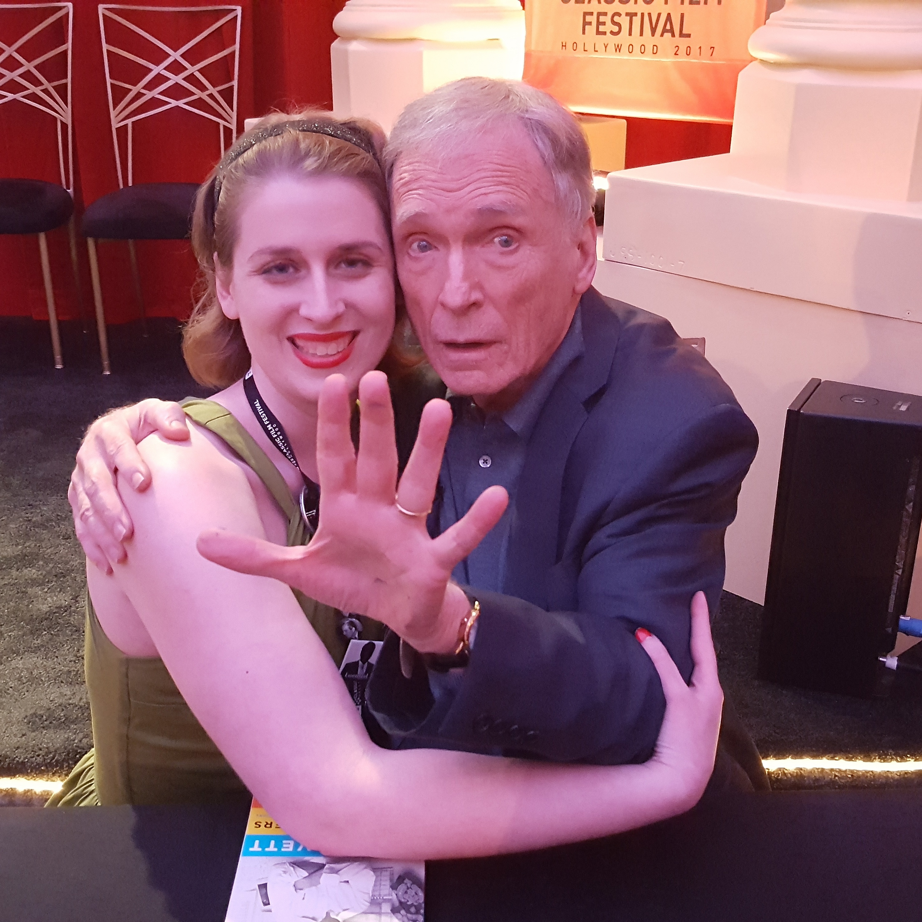My picture with Dick Cavett