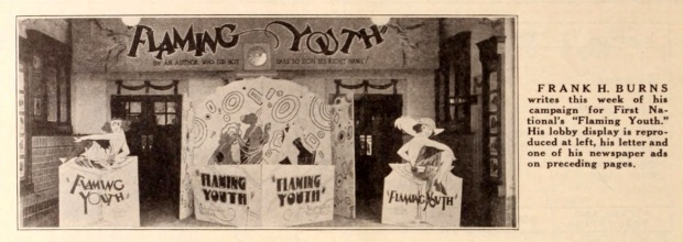 Flaming Youth 1923 Theater Lobby Display