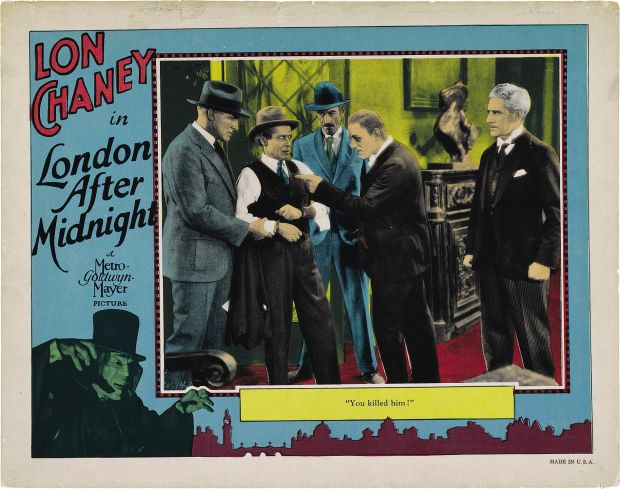 London After Midnight Lobby Card