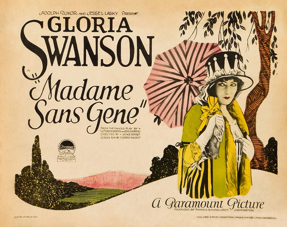 Madame Sans Gene Poster 1925