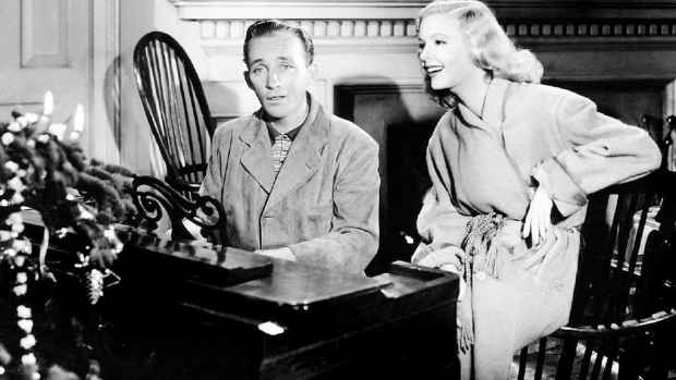 Bing Crosby Singing White Christmas in Holiday Inn 1942