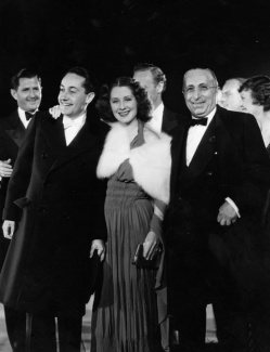 Irving Thalberg Norma Shearer Louis B. Mayer