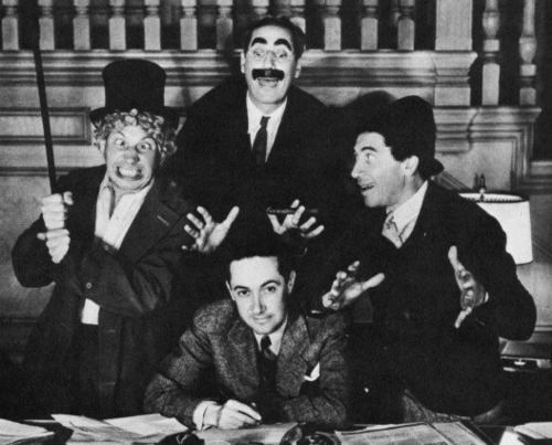Irving Thalberg and the Marx Brothers
