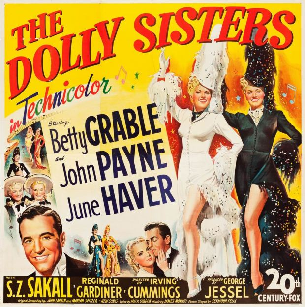 The Dolly Sisters Movie Poster