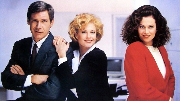 Working Girl Harrison Ford Melanie Griffith Sigourney Weaver
