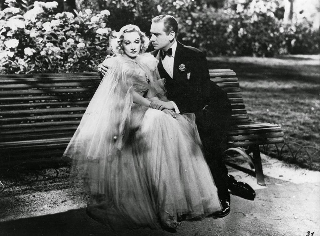 Marlene Dietrich and Melvyn Douglas in Angel (1937)