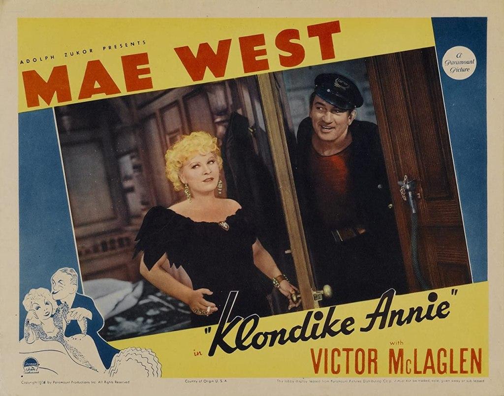 Klondike Annie Lobby Card