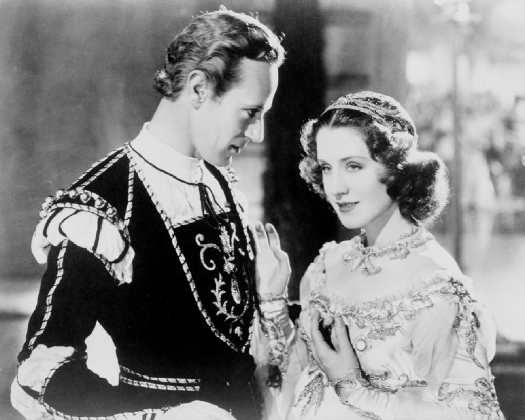 Norma Shearer and Leslie Howard in Romeo and Juliet