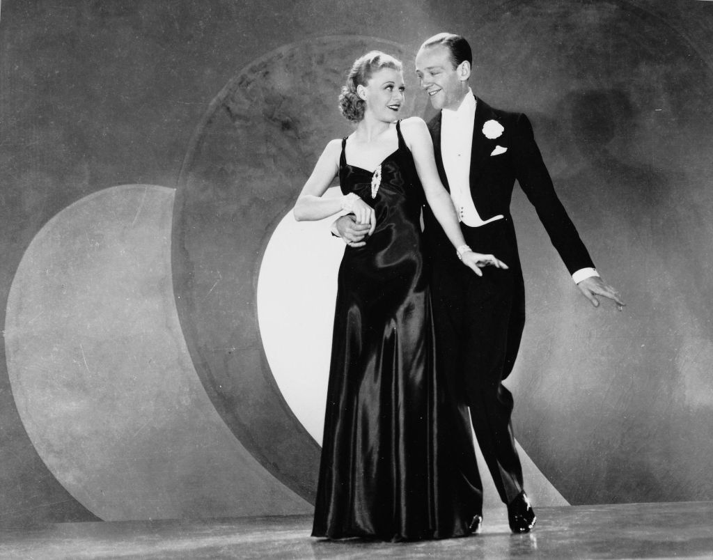 Fred Astaire and Ginger Rogers together in the 1930s.