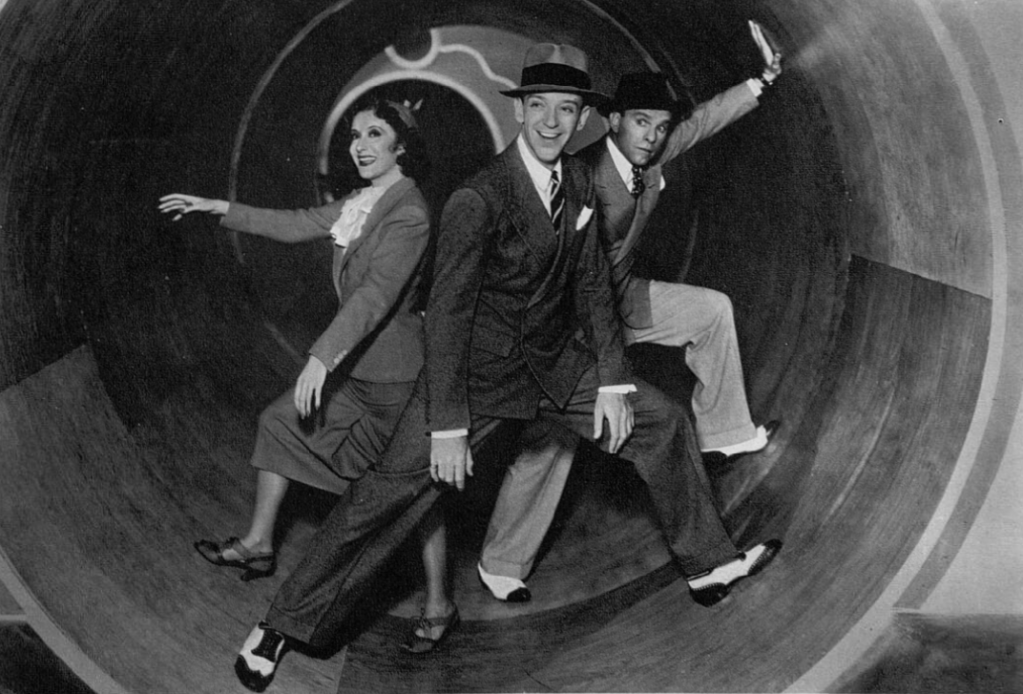 Fred Astaire with Burns and Allen in A Damsel in Distress.