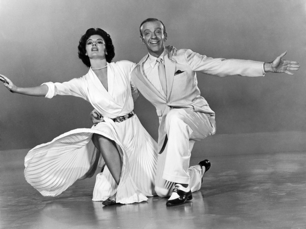 Fred Astaire and Cyd Charisse promo photo for The Band Wagon.