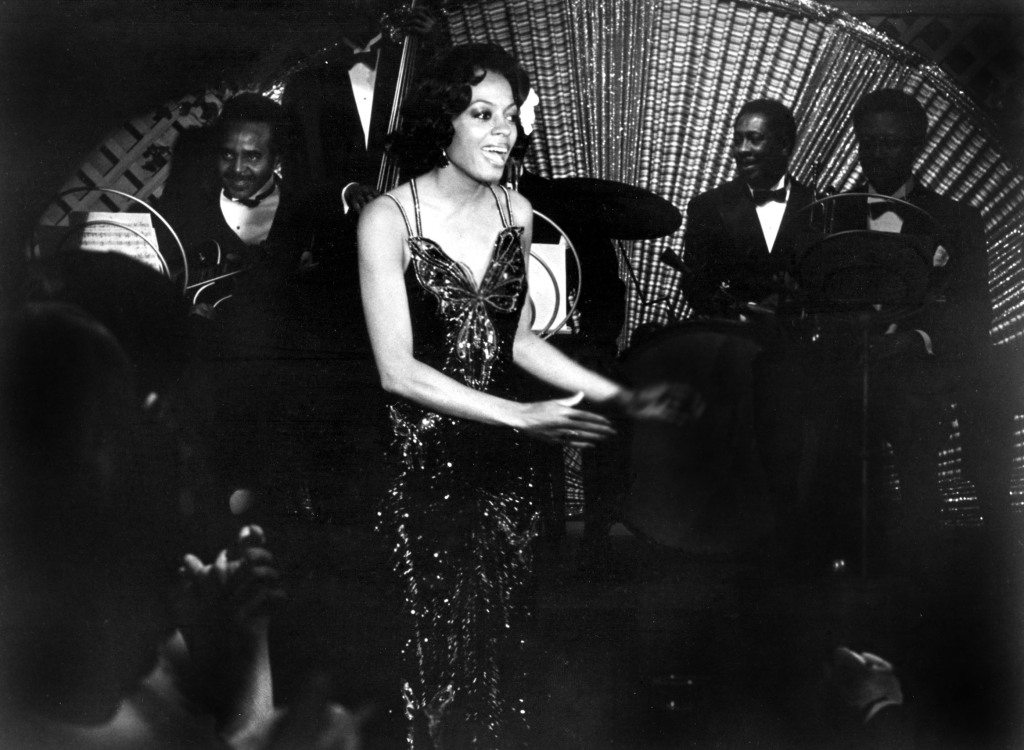 Diana Ross in Lady Sings the Blues.