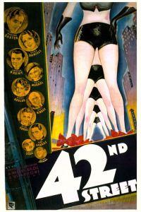 42nd Street 1933 movie poster.