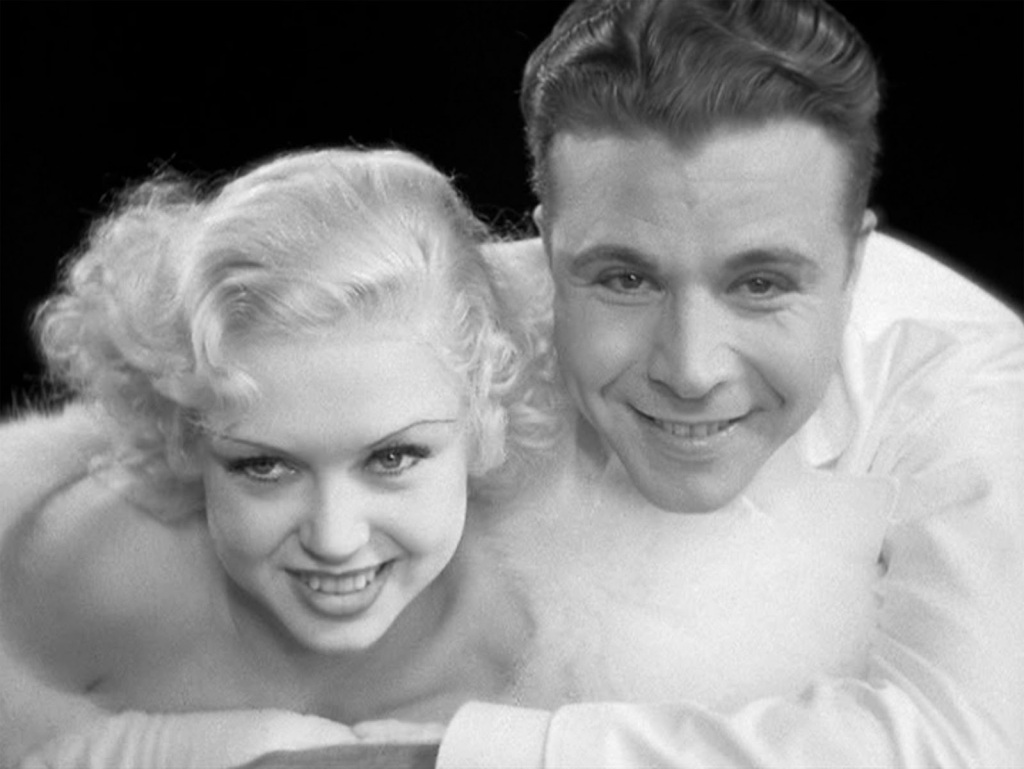 Dick Powell and Toby Wing in the Young and Healthy number from the movie 42nd Street.