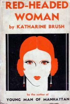 Book cover art for Red-Headed Woman by Katharine Brush.