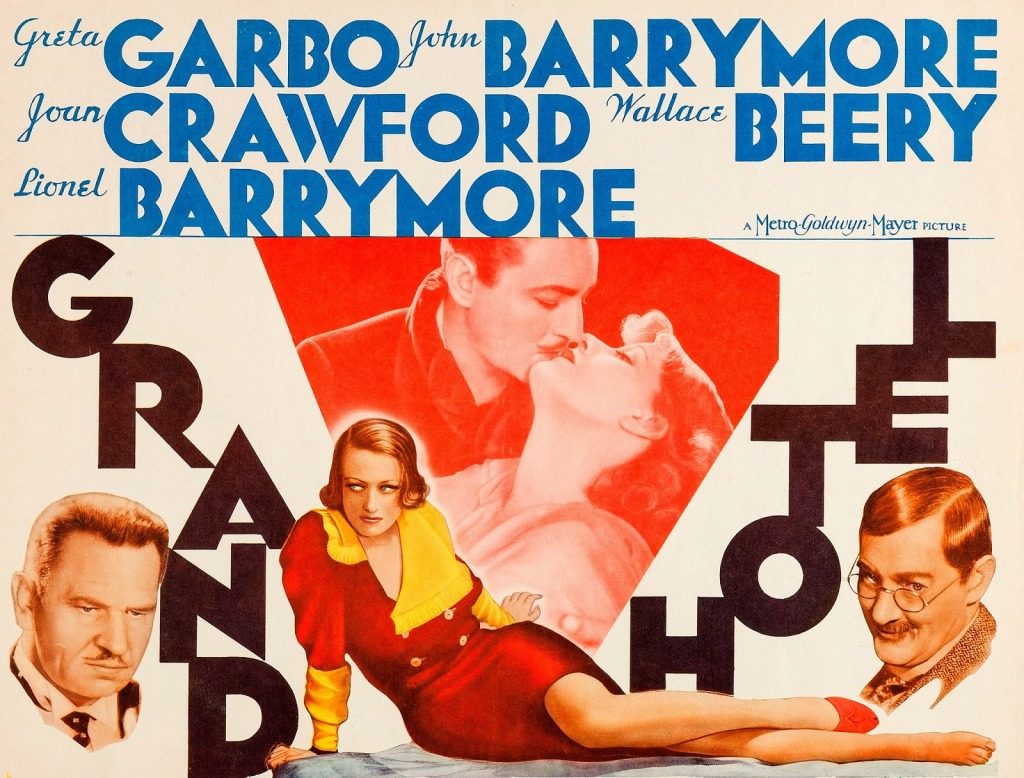 Grand Hotel 1932 movie poster.