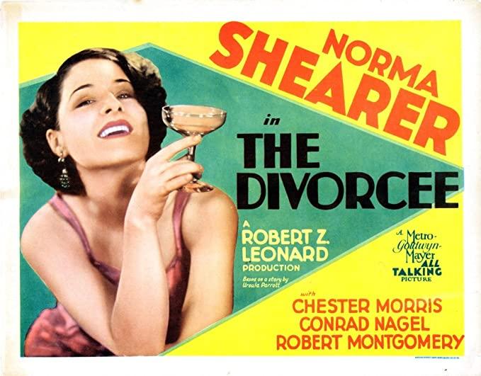 The Divorcee Movie Poster.