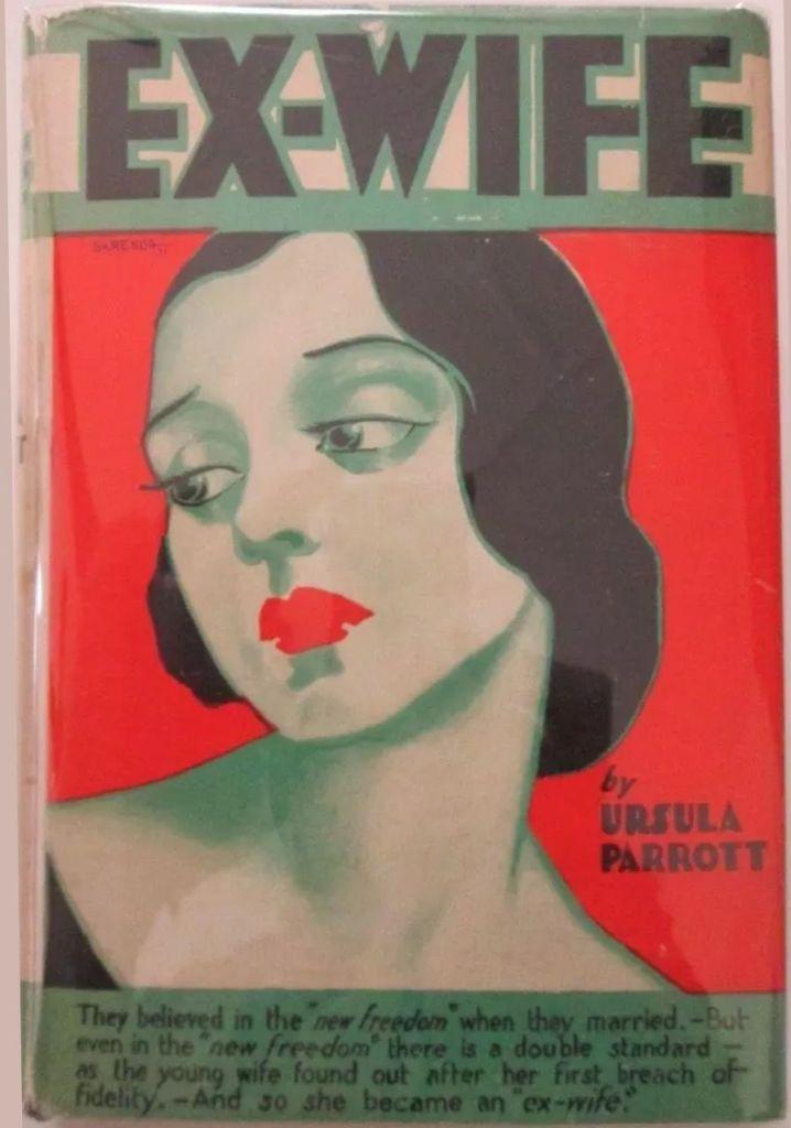 Ursula Parrot Ex-Wife Book Cover.
